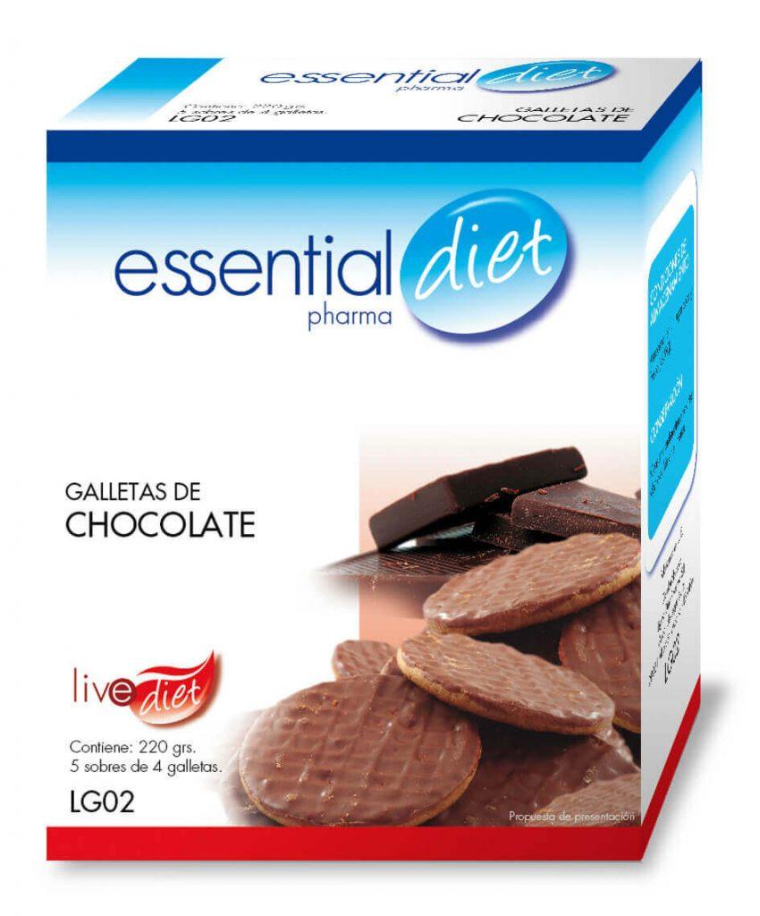Clinicaalbayc nutrición pérdida de peso bajo control GALLETAS DE CHOCOLATE
