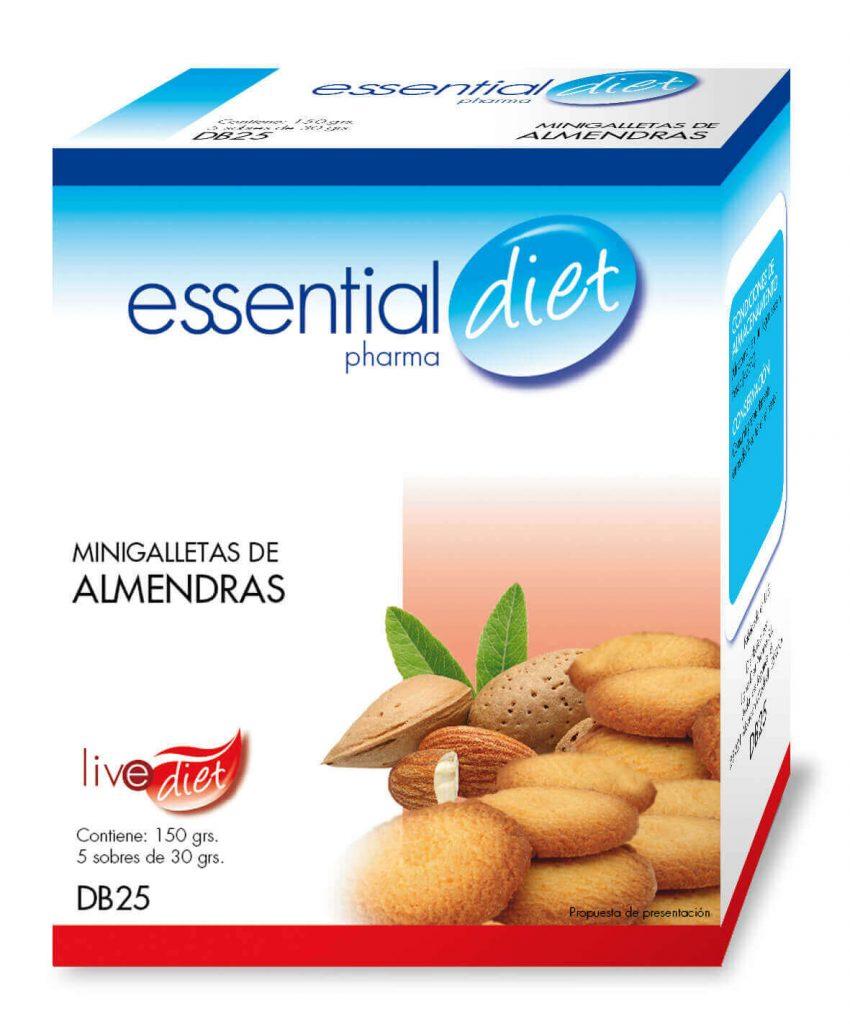 Clinicaalbayc nutrición pérdida de peso bajo control MINIGALLETAS DE ALMENDRAS