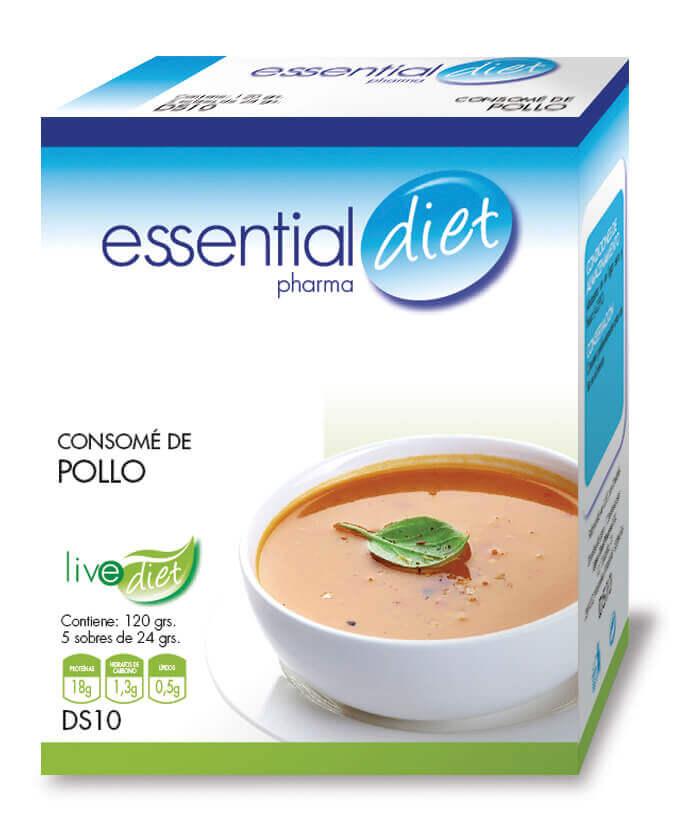 Clinicaalbayc nutrición pérdida de peso bajo control consome POLLO